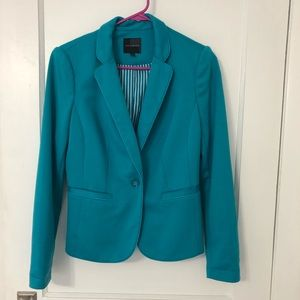 The Limited Teal Blazer Size S